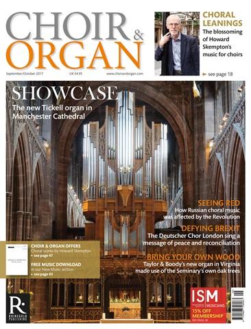 Choir & Organ issue Sept - Oct 2017