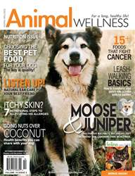 Animal Wellness issue Animal Wellness