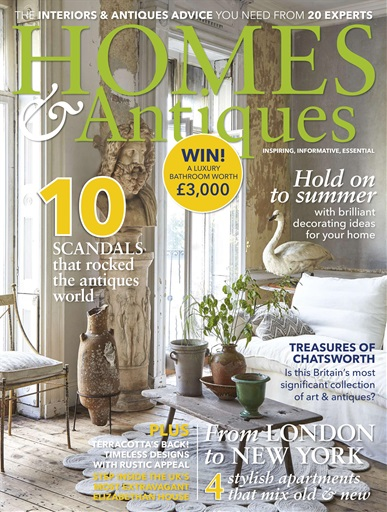Le Cover Preview Homes Antiques Magazine