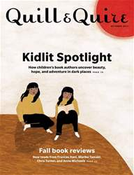 Quill & Quire issue October 2017