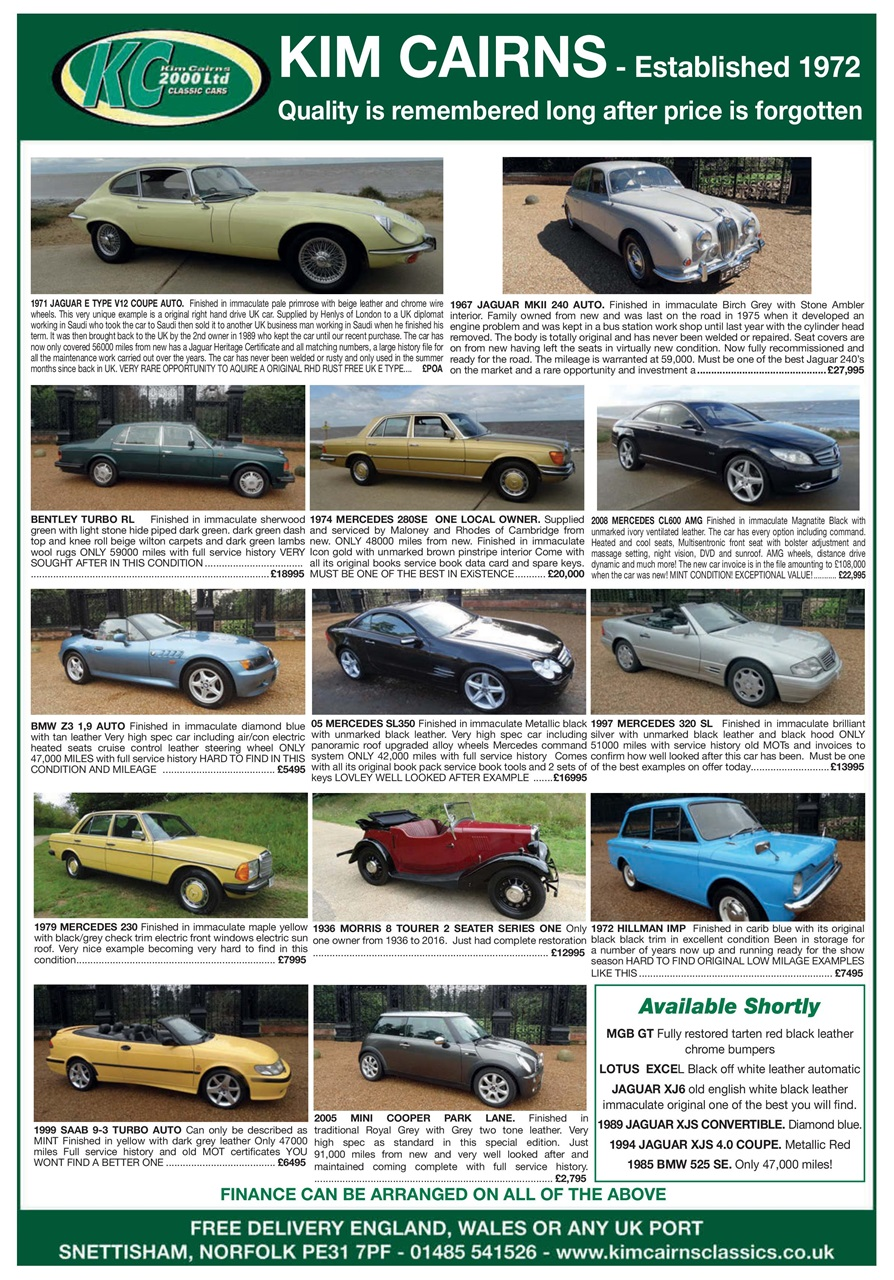 The CAR - magazine No 10 - Ferrari Dino 246 - Alfa Romeo 8C 2300
