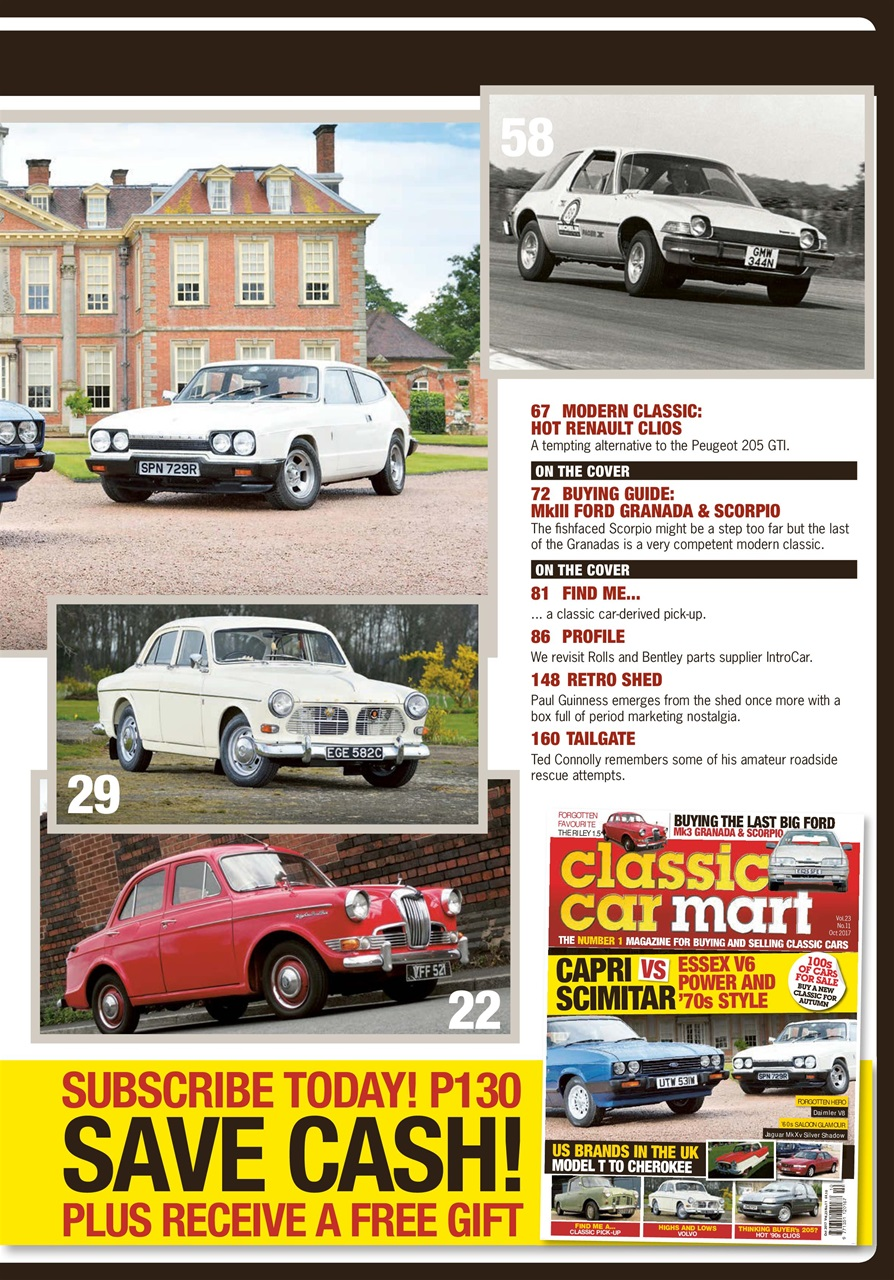 Image Result For Classic Car Mart Magazine Subscription Buy At