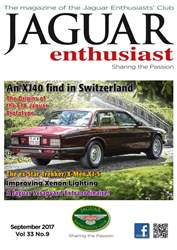 Jaguar Enthusiast issue September 2017