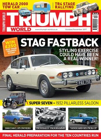 Triumph World issue Oct/Nov 17