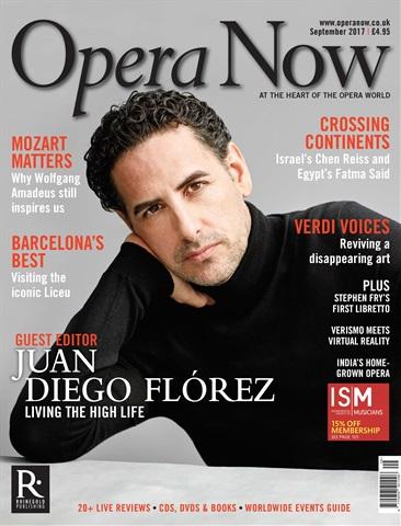 Opera Now issue September 2017