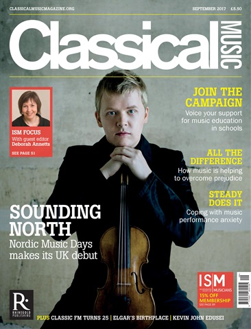 Classical Music issue September 2017