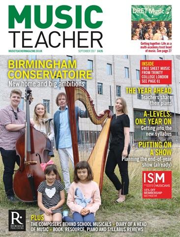 Music Teacher issue September 2017