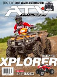 ATV Trail Rider issue Sept/Oct 2017