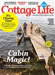 Cottage Life West issue Fall 2017