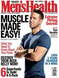 Men's Health Malaysia issue Sep 2017