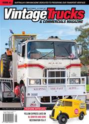 Vintage Trucks & Commercials issue Sept - Oct 2017