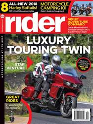 Rider Magazine issue October 2017