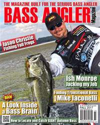 BASS ANGLER MAGAZINE issue Fall 2017