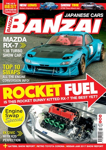 Banzai issue October 2017