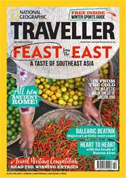 National Geographic Traveller (UK) issue October  2017
