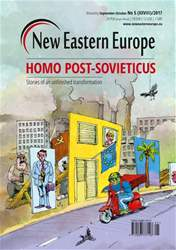 New Eastern Europe issue New Eastern Europe