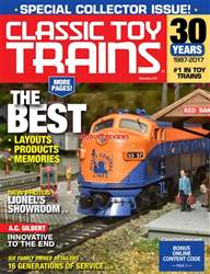 Classic Toy Trains issue November 2017
