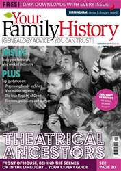 Your Family History issue September 2017