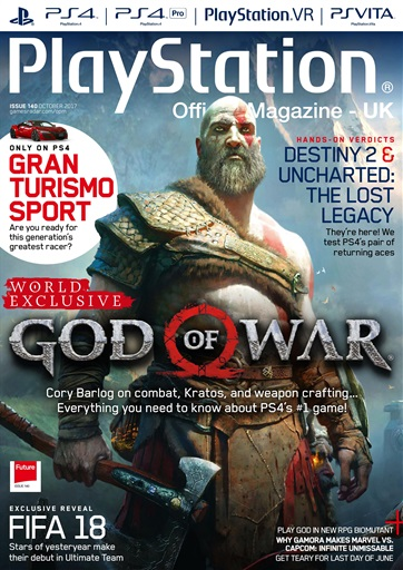 Title Cover Preview Playstation Official Magazine UK Edition