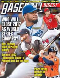 Baseball Digest issue September/October 2017