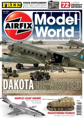 Airfix Model World issue   October 2017