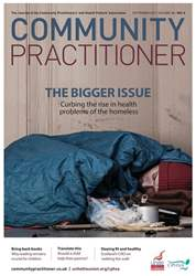 Community Practitioner issue September 2017