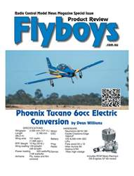 Phoenix Tucano 60cc Flyboys Product Review #1  issue Phoenix Tucano 60cc Flyboys Product Review #1