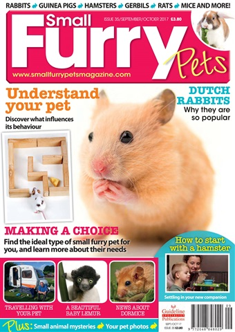 Small Furry Pets issue Sep/Oct 2017