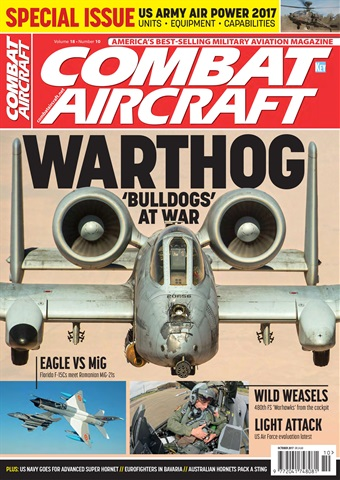 Combat Aircraft issue   October 2017
