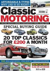 Classic Motoring issue October 2017