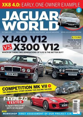 Jaguar World issue October 2017