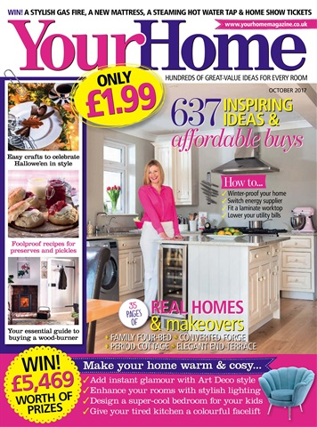 Your Home Magazine issue October 2017