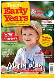 Teach Early Years issue Vol.7 No.6