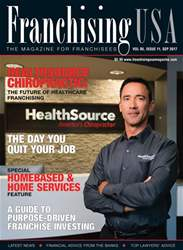 Franchising USA issue September 2017