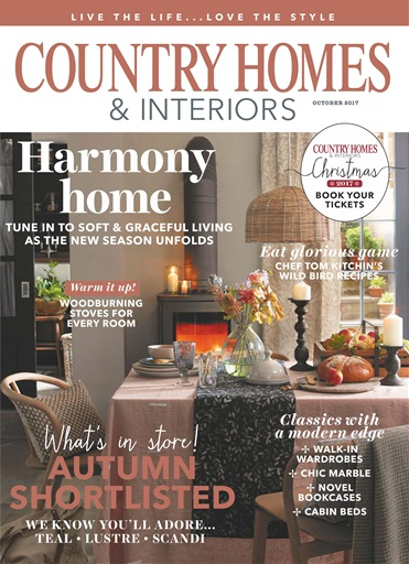 Country Homes Interiors Magazine October 2017 Subscriptions Pocketmags