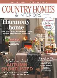 Country Homes & Interiors issue October 2017