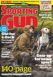 Sporting Gun issue October 2017