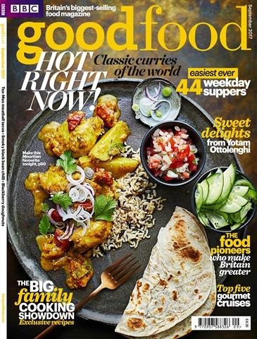 BBC Good Food issue September 2017