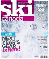 Ski Canada issue Buyer's Guide 2018