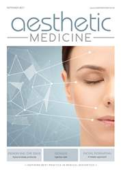 Aesthetic Medicine issue AM September 2017