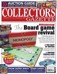 Collectors Gazette issue October 2017