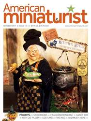 American Miniaturist issue October 2017