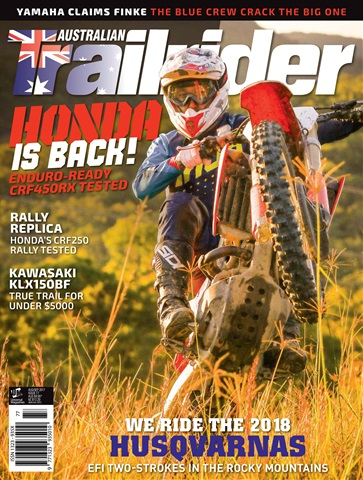 Trailrider issue Issue#77 Sep 2017