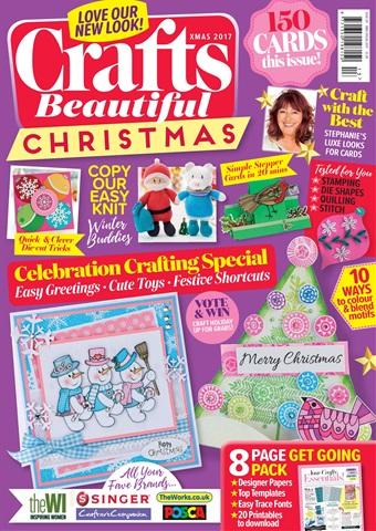 Crafts Beautiful issue Xmas Spec 17