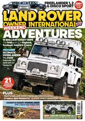 Land Rover Owner issue October 2017