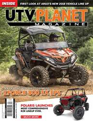 UTV Planet Magazine issue OCTOBER | NOVEMBER | DECEMBER 2017
