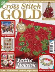 Cross Stitch Gold issue September 2017