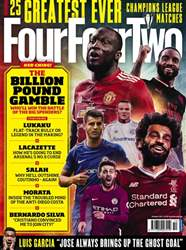 Four Four Two Magazine Cover