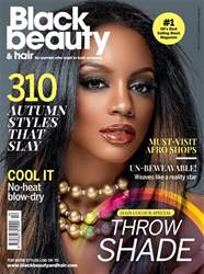 Black Beauty & Hair – the UK's No. 1 black magazine issue Oct/Nov 17