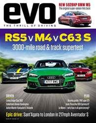 Evo issue November 2017
